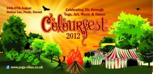 Colourfest Flyer - Yoga, Dance, Music & Art